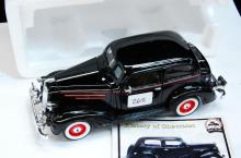1937 Chevy Master Deluxe 1/32 Black Model Car