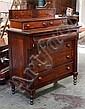 American (U.S.A.) mahogany chest