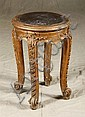 Italian gilt side table