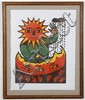DALE DE ARMOND (1914-2006, AK) WOODBLOCK ON PAPER - Pencil signed, titled