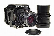 Mamiya RB 67 (6x7) photographic camera.