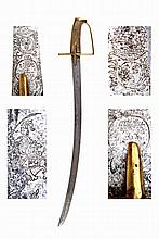 Composite late 18th century sabre.