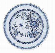 Dutch Delft ceramic plate.