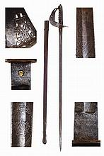 English late 19th century infantry officer sword.
