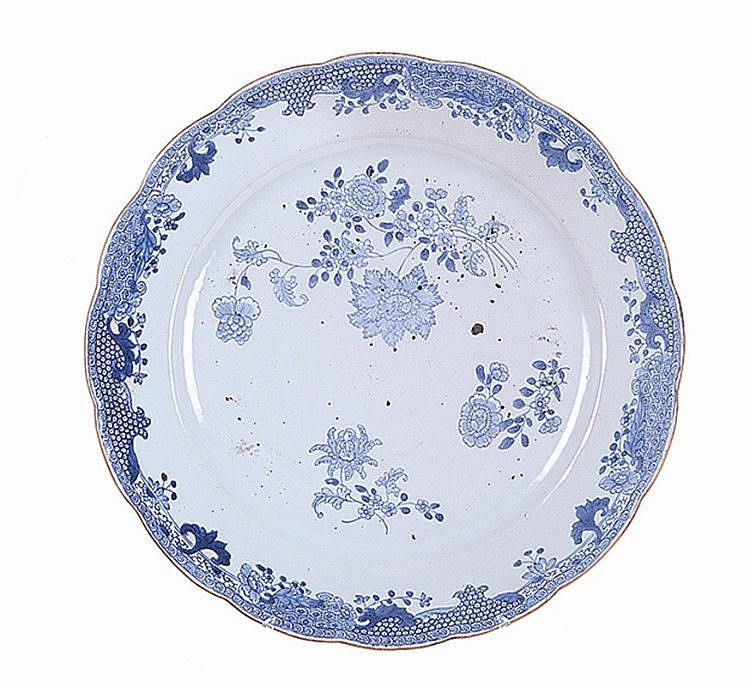 Chinese porcelain, plate.