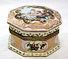 HAND PAINTED VIENNA PORCELAIN JEWELRY BOX