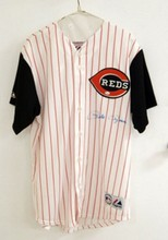 PETE ROSE AUTOGRAPHED REDS JERSEY