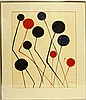 CALDER KINETIC ART PENCIL SIGNED ARTIST PROOF