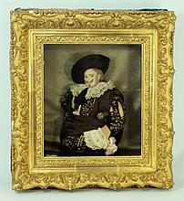 FRANS HALS 'THE LAUGHING CALVALIER' DOLL IN FRAME