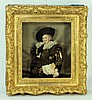 FRANS HALS 'THE LAUGHING CALVALIER' DOLL IN FRAME, Frans Hals, $100
