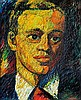 Gyula Szabó (Hungarian, 1907-1972), Portrait of a young man