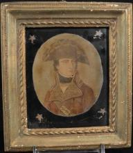 Framed Borghese Print French Military Officer, 5