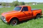 1971 GMC truck street rod, 402 V8, 400 turbo trans, 12 bolt rear, 12