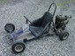 Blue Cadillac go cart with B&S Intek 190 6hp OHV engine, extra drive sprockets