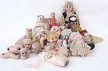 Group of Estate Dolls