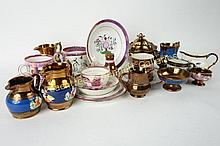 Group Lot Lusterware