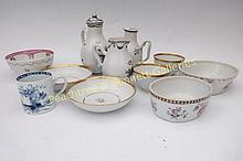 Group Chinese Export Porcelain
