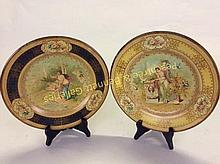 Pair Vienna Art Plates