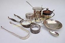 Group Sterling Silver Objects