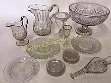 Group Early American Glass