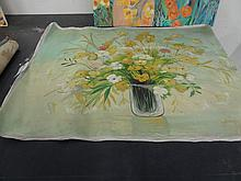 F. Gonzalez Unframed Canvas 40