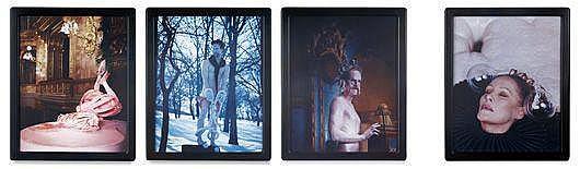 MATTHEW BARNEY Cremaster 5: Bocsass el, 1997 Four