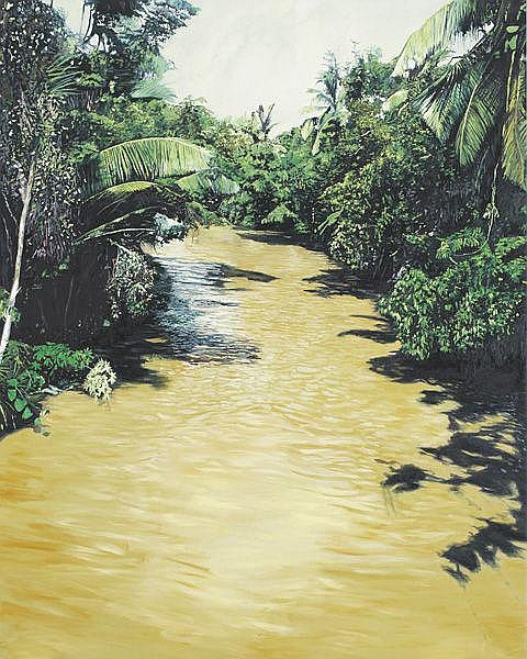Contemporary Art: MICHAEL ASHCROFT Jungle River,