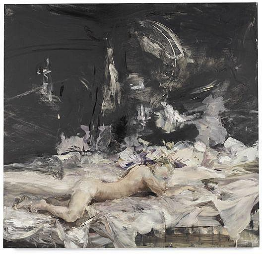 CECILY BROWN  Black Painting No. 6, 2003