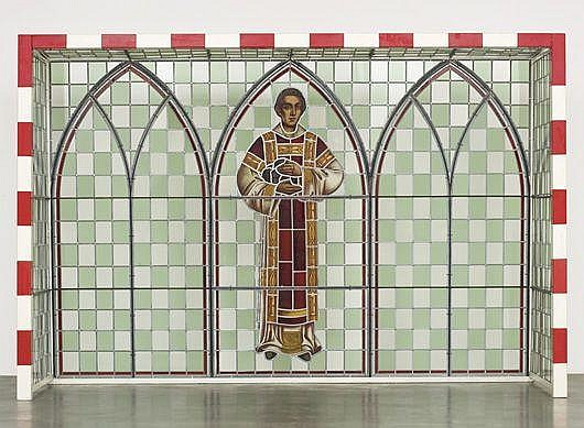 WIM DELVOYE St. Stephanus I, 1990