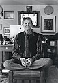 Susanna Lucia Lamaina: Peter Coyote: Actor, Activist, Author, 2013, silver print, signed recto and verso
