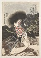 Estampes japonaises Utagawa Kunisada (1786-1865) Oban tate-e, okubi-e sur micacé gris de l'acteur Ichikawa Danjuro VII dans le rôle ..