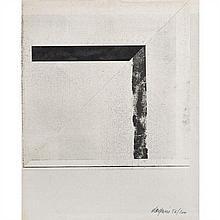 Pierre DAQUIN (né en 1936) Sans titre, 1975 Impression et pliage Signé et numéroté 56/100 en bas à droite 36 x 29 cm