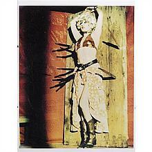 Kaka LEMOINE et K.SIEVERDING Show, 1973 Impression sur papier Signé, titré, daté et numéroté 78/200 en bas à droite 40 x 30 cm