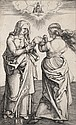 Albrecht Dürer (1471-1528) La Vierge et l'Enfant avec sainte Anne