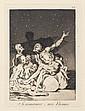 Francisco de Goya y Lucientes (1746-1828) Las rinde el Sueño ; Si amanece ; nos Vamos
