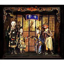 Jiang JIAN (né en 1953) The legend of the white snake, Pingyao, Shanxi, Chine, 2003