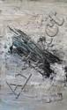 André Djaoui (Né en 1943) Blue Galaxy Technique mixte, acrylique sur carton signé en bas à droite 200 x 100 cm Provenance...