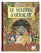 Le Sceptre d'Ottokar. Casterman. 4e plat B1. Edition originale de 1947. Pages de garde bleu foncé.