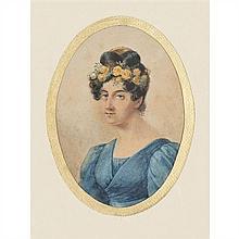 École du XIXe siècle Portrait présumé de Mademoiselle George