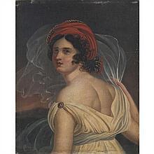 École du XIXe siècle Portrait de Mademoiselle George