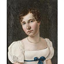 École du XIXe siècle Portrait de Mademoiselle Duchesnois