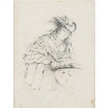 École du XIXe siècle Portrait présuméde George Sand