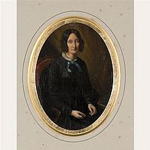 D'après Eugénie TRIPIER-LEFRANC Portrait présumé de Marie D'Agoult