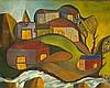 Benjamín DUARTE JIMENEZ (1900-1974) Sans titre (village)