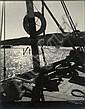 M. MAURER (Tunis) Marines, années 1920 4 épreuves gélatino-argentiques d'époque montées sur supports cartonnés. Signées en blanc en ...