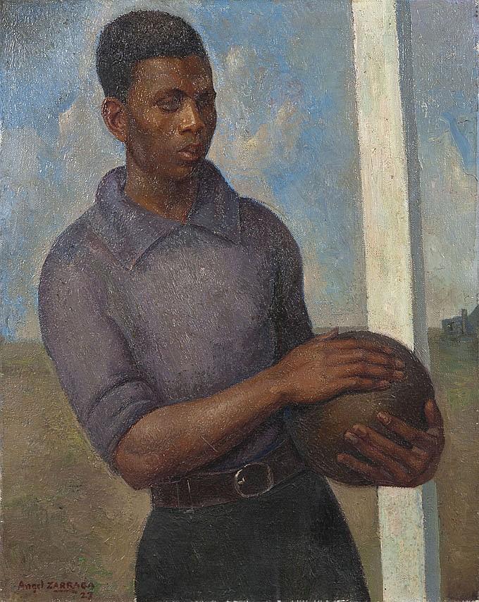 Angel ZARRAGA ARGUELLES (1886-1946) Le Jeune footbaleur, 1927