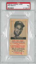 1954 NY Journal American Phil Rizzuto PSA Grade 7 Very Rare (1 of 3)