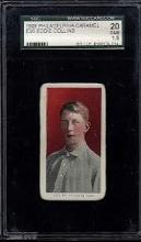 1909 Philadelphia Caramel E95 Eddie Collins Card SGC 1.5 (20 Fair)