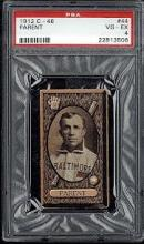 1912 C-46 Parent #44 Card PSA 4 (Very Good-Excellent)