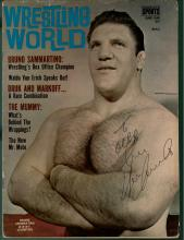 Bruno Sammartino Signed Magazine Certified by JSA James Spence Authentication